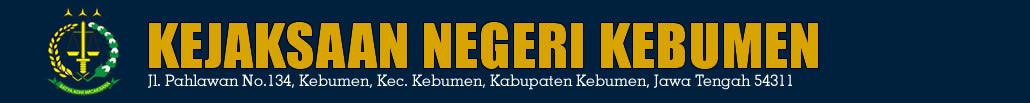 Website Resmi Kejaksaan Negeri Kebumen